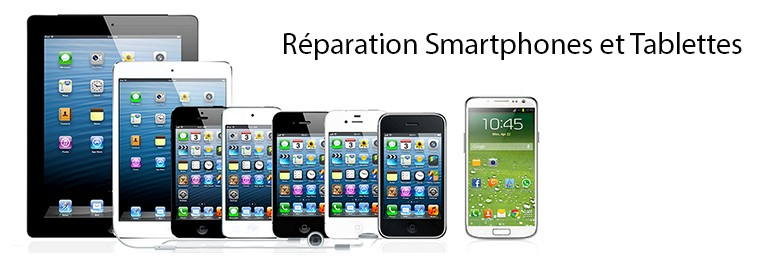 Réparation Smartphones et Tablettes iphone ipod ipad yooshop.com